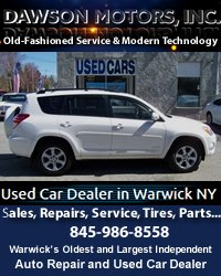 Dawson Motors Used Car Dealership Warwick NY
