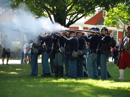 Civil War Firing