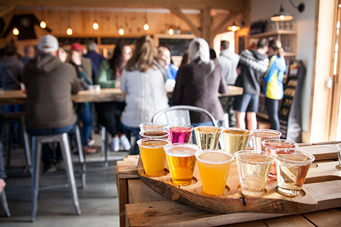 Pennings Farm Cidery Flight Photo Credit Greg Rhein