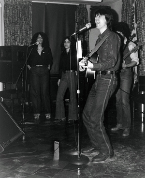 Jim bergen pines benefit circa 1980 - playing with Lucy Kaplansky, Arlen Roth and Meredith Deming