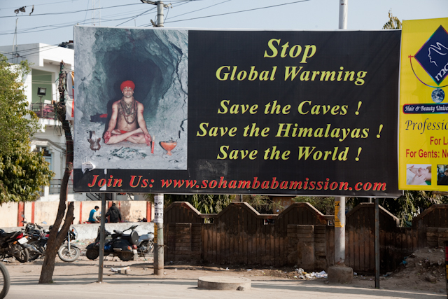 billboard of save the environment